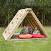 Wooden Climbing Prism  small