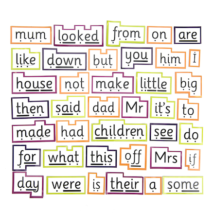 Phonics Magnetic High Frequency Words  large