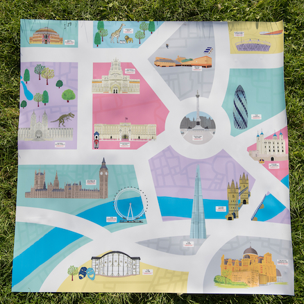 City of London PVC Outdoor Story Mat  large