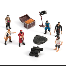 Pirate Small World Figures and Accessories 10pcs  medium