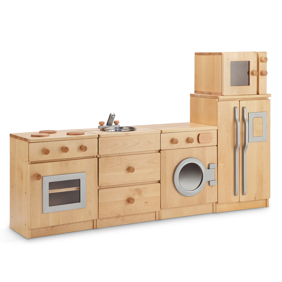 Small Wooden Play Kitchen By Heartwood By Heartwoodnaturaltoys: Buy Hardwood Role Play Kitchen Units