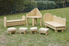 Outdoor Wooden Seating Furniture Range  small
