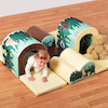 Soft Play Toddler Tunnels Set 9pcs  small