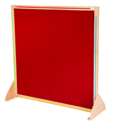 Wooden Framed Floor Standing Display Board  large