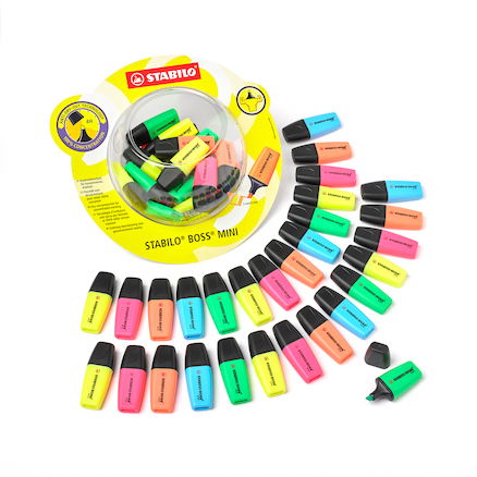STABILO BOSS® Highlighter Pens  large