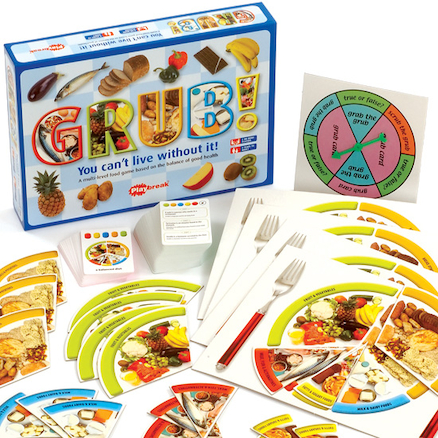 Grub! Nutrition Board Game  large