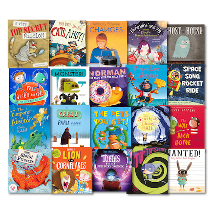 KS1 and KS2 Genre Books 20pk  large