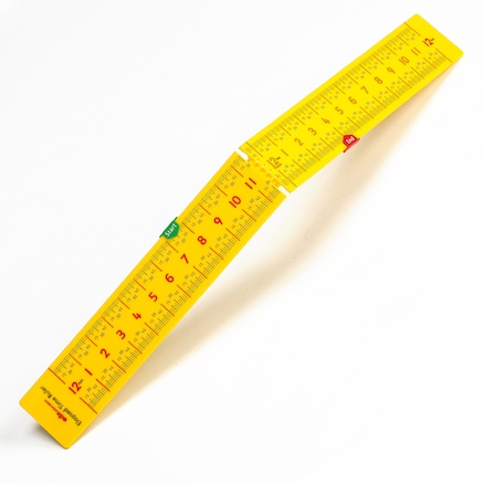 Folding Elapsed Time Ruler 10pk  large