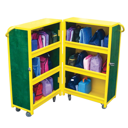 Lockable Lunchbox Cabinet  large