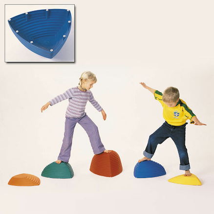 Raised Balance Hilltop Stepping Stones 5pk  large
