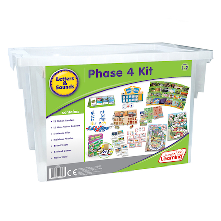 Budget Phonics Kit  Phase 4  large