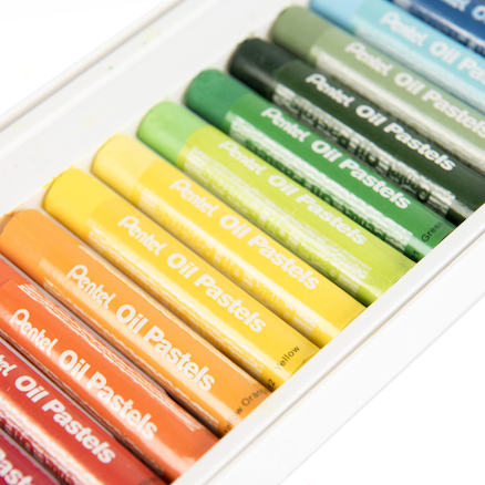Pentel Large Oil Pastels  large