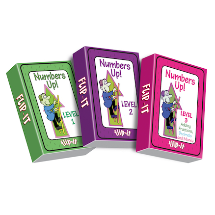 Flip-It Numbers Up! Activity Cards  large