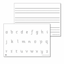 A4 Double Sided Handwriting Board 6pk  medium