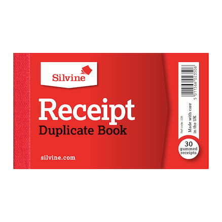 Duplicate Cash Receipt Books 36pk  large