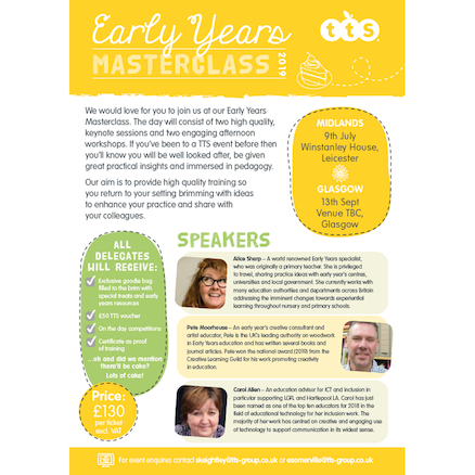 TTS Early Years Masterclass (Midlands)  large