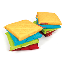 Outdoor Quilted Cushions 8pk  medium
