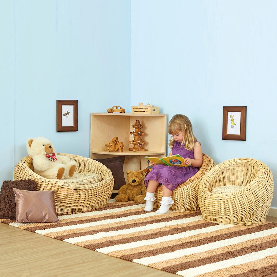 Buy Three Piece Wicker Sofa And Chairs Set Tts