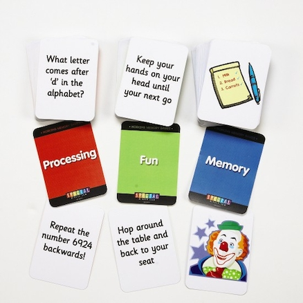 Working Memory Activity Game Cards  large