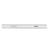 White Durable Plastic 30cm Ruler 30pk  small
