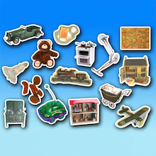 Toys Sort and Match Objects 30pk  medium