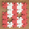 Foam Number Square Puzzle 1-144  small