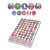 Assorted French Reward Stickers 3930pk  small
