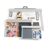 Pisces Transfile Transparent Portfolios with Handle  small