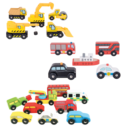 Small World Vehicle Collection 24pcs  large
