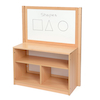 Room Scene Open Bookcase With Divider  small