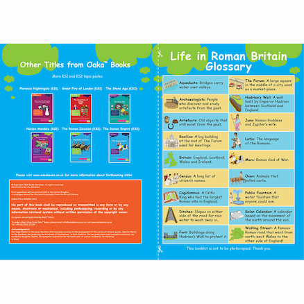 KS3 Roman Britain Revision Activity Cards 10pk  large