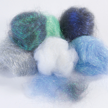 Angelina Fibres Cool Colours 10g 6pk  medium