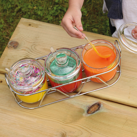 Acrylic Bowl Jar Sets  large