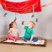 Sing a Nursery Rhyme Canopy Collection 3pcs  medium