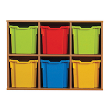 Allsorts Tray Unit Storage 6 Jumbo Trays  medium