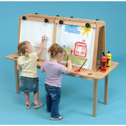 Four Person Table Easel  large