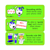 Reading Target Stickers Years 1 to 6  small
