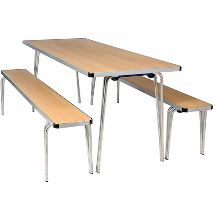 Contour Dining Stacking Benches  large