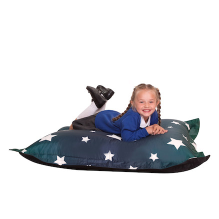 Star Printed Giant Bean Bag  large