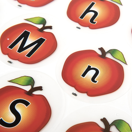 Outdoor Alphabet Apple Mobiles 26pk  large