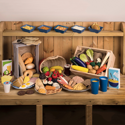 Role Play Bulk Food Set 93pk  large