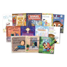 KS1 Dealing With Sensitive Issues Books 12pk  medium
