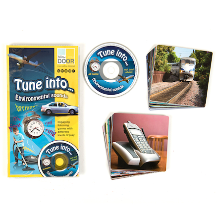 Tune Into Environmental Sounds Listening Game CD  large