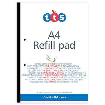 TTS 200 sheets Pad 5pk  large