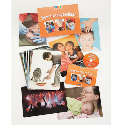 How Are They Feeling Discussion Activity Cards  large