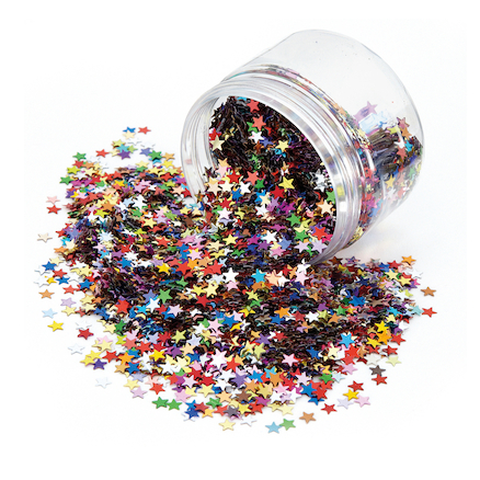 Multistars Assorted Sequins 200ml  large