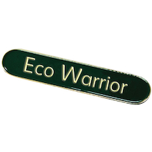 Eco Warrior Enamel Badges  medium