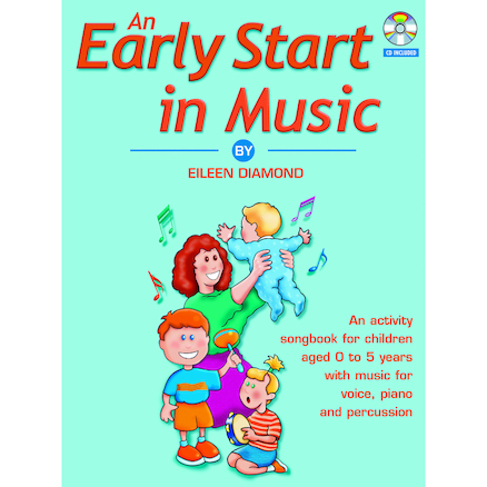 An Early Start in Music Book and CD  large