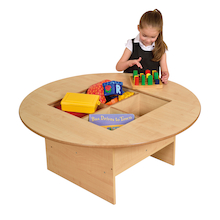 Round Table with Four Sorting Compartments  medium