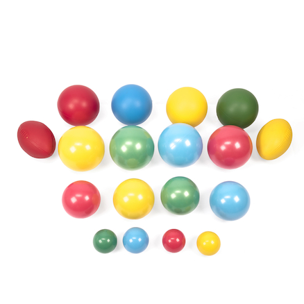 Large Soft Balls Set 18pk  large